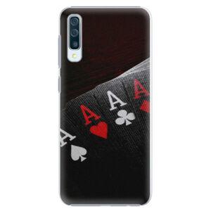 Plastové puzdro iSaprio - Poker - Samsung Galaxy A50