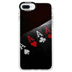 Silikónové púzdro Bumper iSaprio - Poker - iPhone 8 Plus