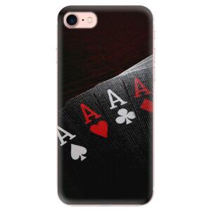 Odolné silikónové puzdro iSaprio - Poker - iPhone 7