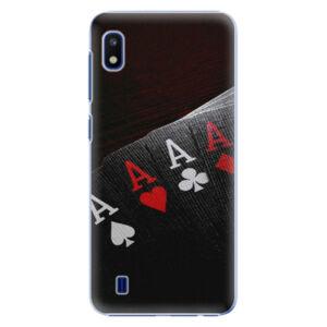 Plastové puzdro iSaprio - Poker - Samsung Galaxy A10