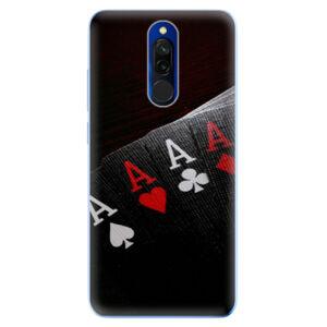 Odolné silikónové puzdro iSaprio - Poker - Xiaomi Redmi 8