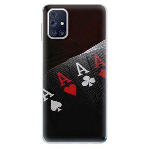 Odolné silikónové puzdro iSaprio - Poker - Samsung Galaxy M31s