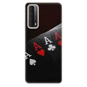 Odolné silikónové puzdro iSaprio - Poker - Huawei P Smart 2021