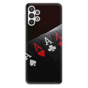 Odolné silikónové puzdro iSaprio - Poker - Samsung Galaxy A32 5G