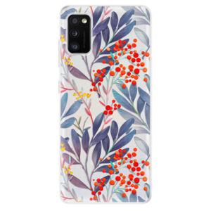 Odolné silikónové puzdro iSaprio - Rowanberry - Samsung Galaxy A41