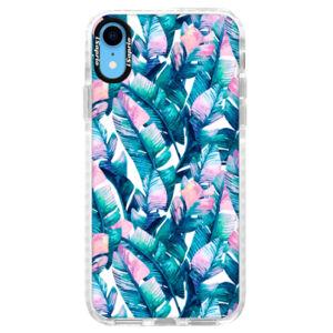 Silikónové púzdro Bumper iSaprio - Palm Leaves 03 - iPhone XR