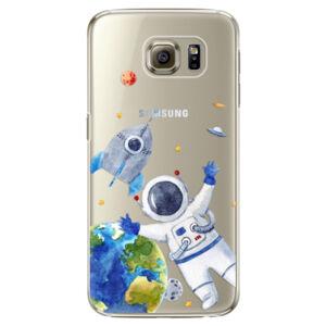 Plastové puzdro iSaprio - Space 05 - Samsung Galaxy S6 Edge Plus