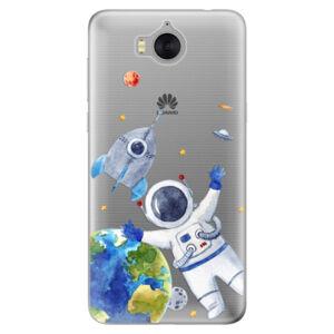 Silikónové puzdro iSaprio - Space 05 - Huawei Y5 2017 / Y6 2017