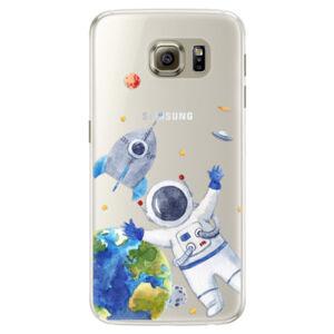Silikónové puzdro iSaprio - Space 05 - Samsung Galaxy S6 Edge