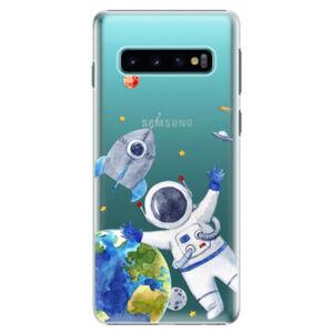 Plastové puzdro iSaprio - Space 05 - Samsung Galaxy S10