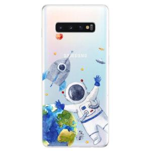 Odolné silikonové pouzdro iSaprio - Space 05 - Samsung Galaxy S10+