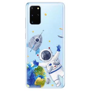 Odolné silikónové puzdro iSaprio - Space 05 - Samsung Galaxy S20+