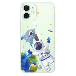 Odolné silikónové puzdro iSaprio - Space 05 - iPhone 12 mini