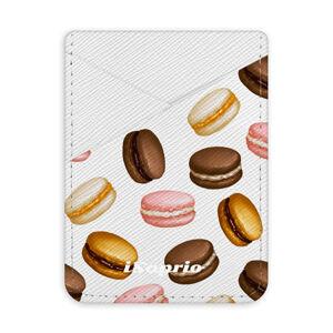 Pouzdro na kreditní karty iSaprio - Macaron Pattern - světlá nalepovací kapsa