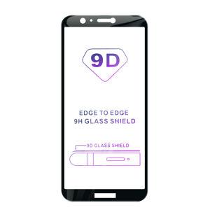 Tvrdené sklo iSaprio 9D BLACK pre Huawei P Smart