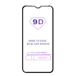 Tvrdené sklo iSaprio 9D BLACK pre Xiaomi Redmi 9/9A/9C